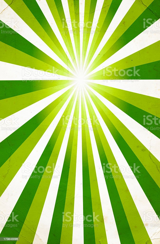 Green and White Stripe Pattern royalty-free stock photo