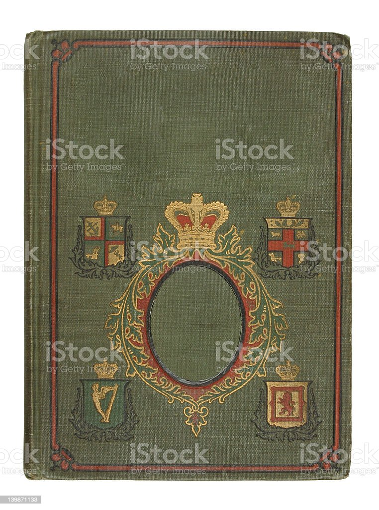Green Antique Book royalty-free stock photo