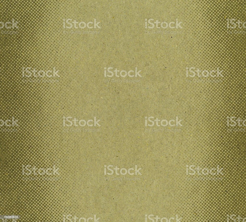 green antique paper with halftone stock photo