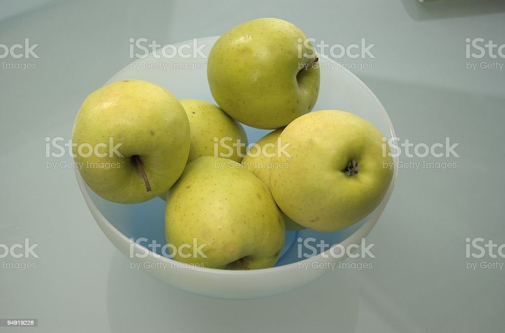 Green aplles royalty-free stock photo