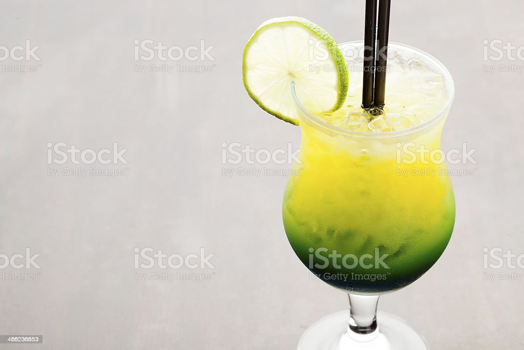 Green Apple Cocktail royalty-free stock photo