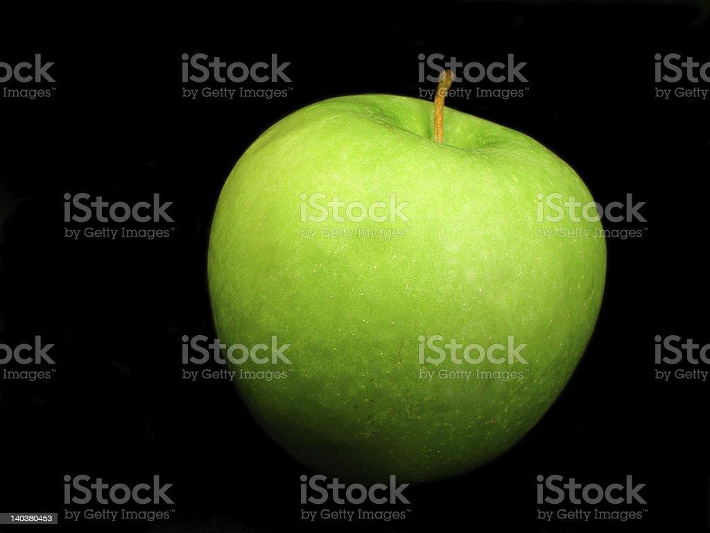 Zielone jabłko zbiór zdjęć royalty-free