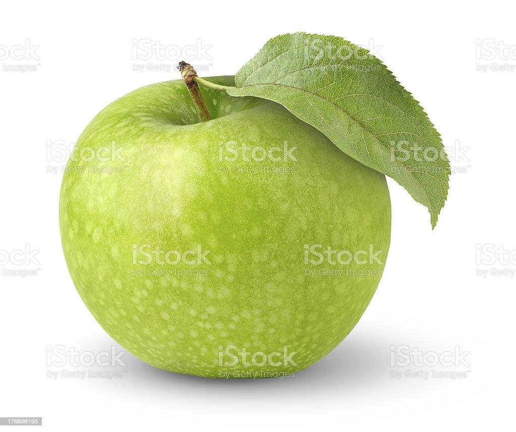 Green apple royalty-free stock photo