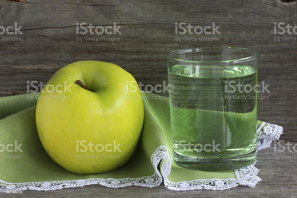 Green apple. royalty-free stock photo