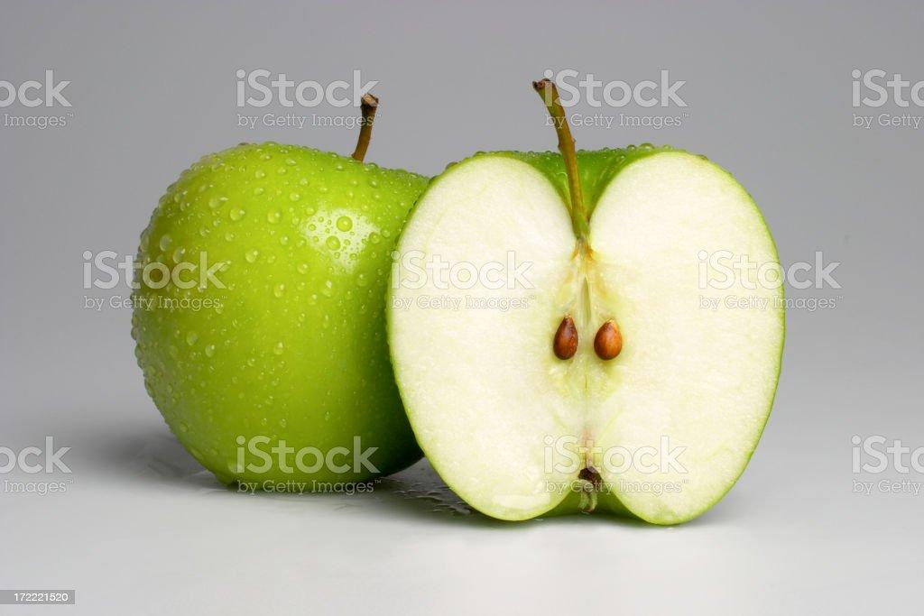 Green Apple-01 stock photo