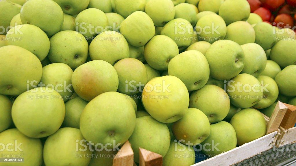 Green Apples stock photo