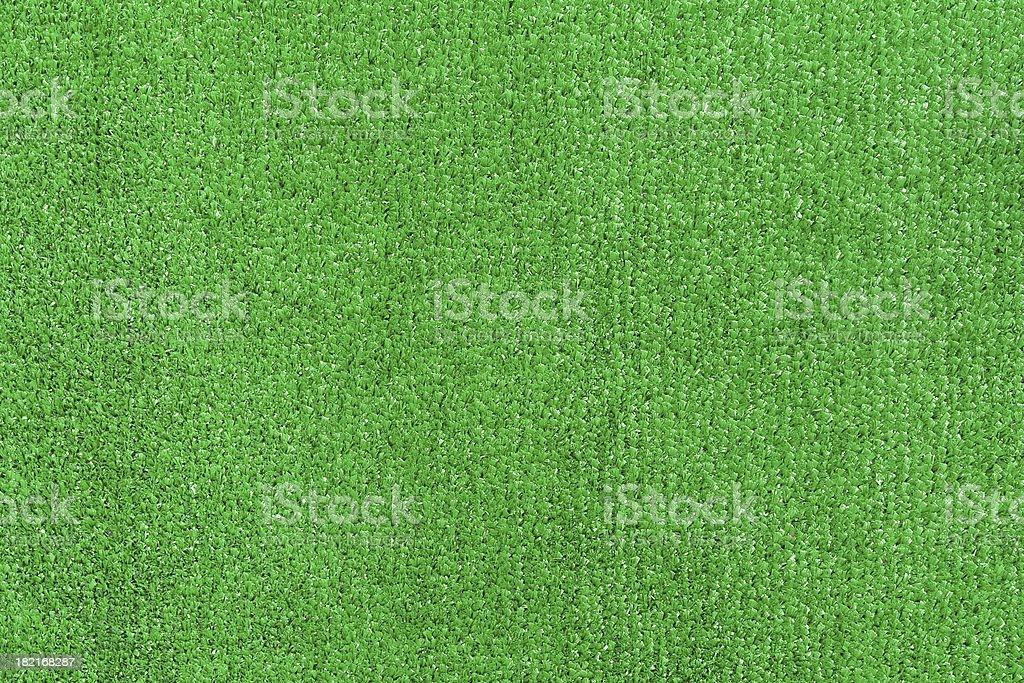 Green artifical turf stock photo