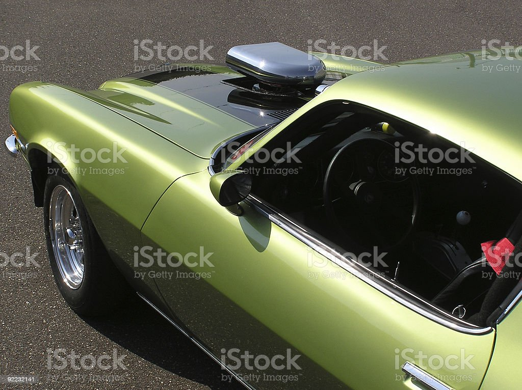 Green as in Fast #2 stock photo