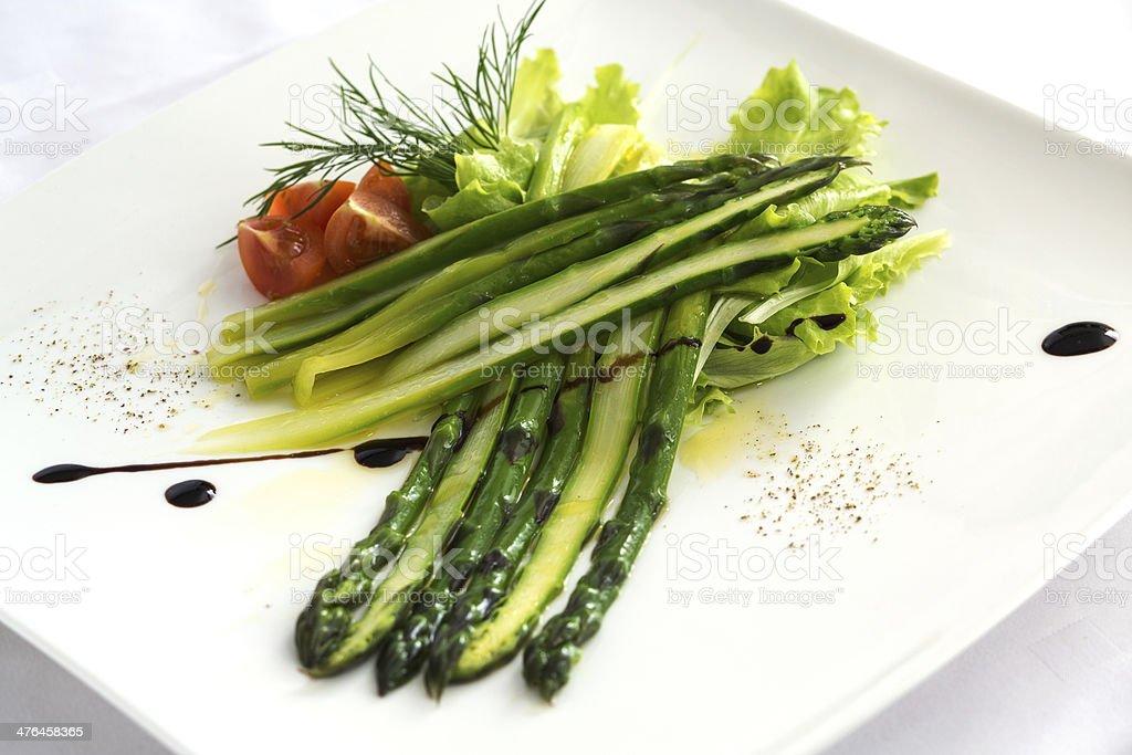 Green Asparagus royalty-free stock photo