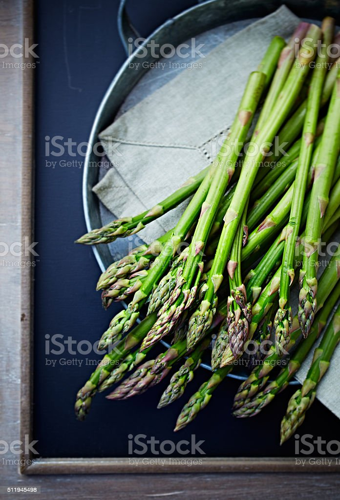 Green Asparagus stock photo
