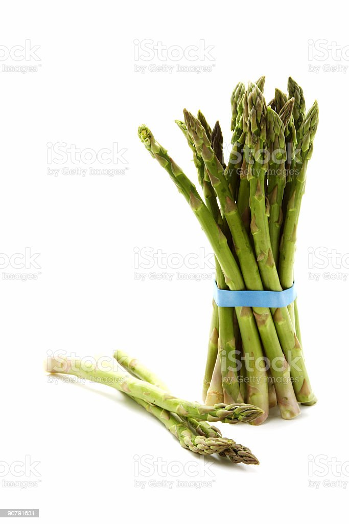 Green asparagus royalty-free stock photo