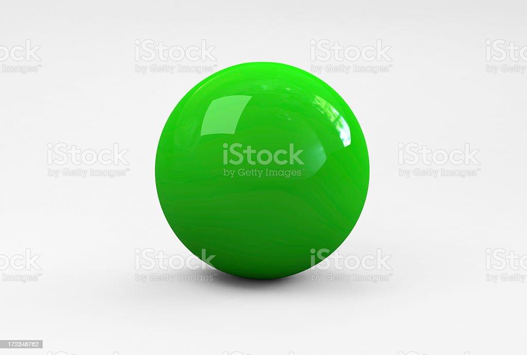 Green Ball royalty-free stock photo