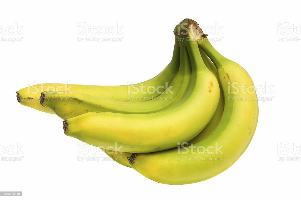 Green Banana Series Two royalty-free stock photo