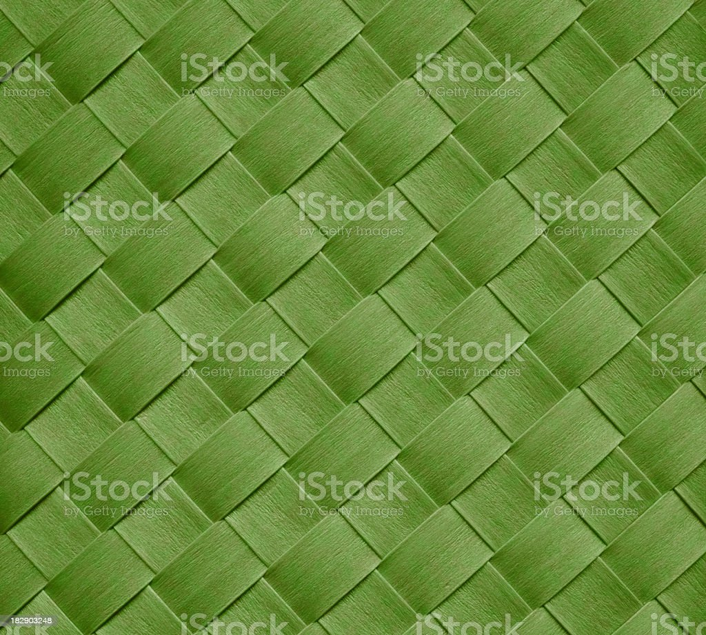 green basket royalty-free stock photo