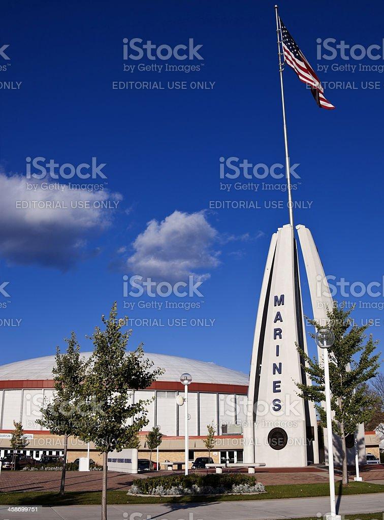 Green Bay War Memorial stock photo