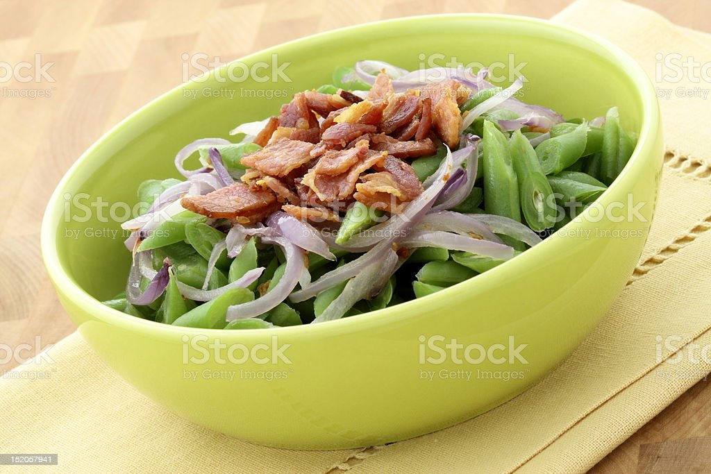 Green bean casserole royalty-free stock photo