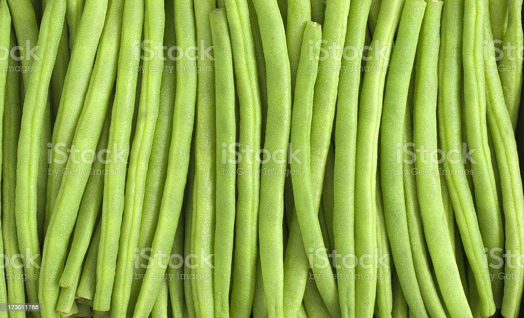 Green Bean (Haricot Verts) royalty-free stock photo