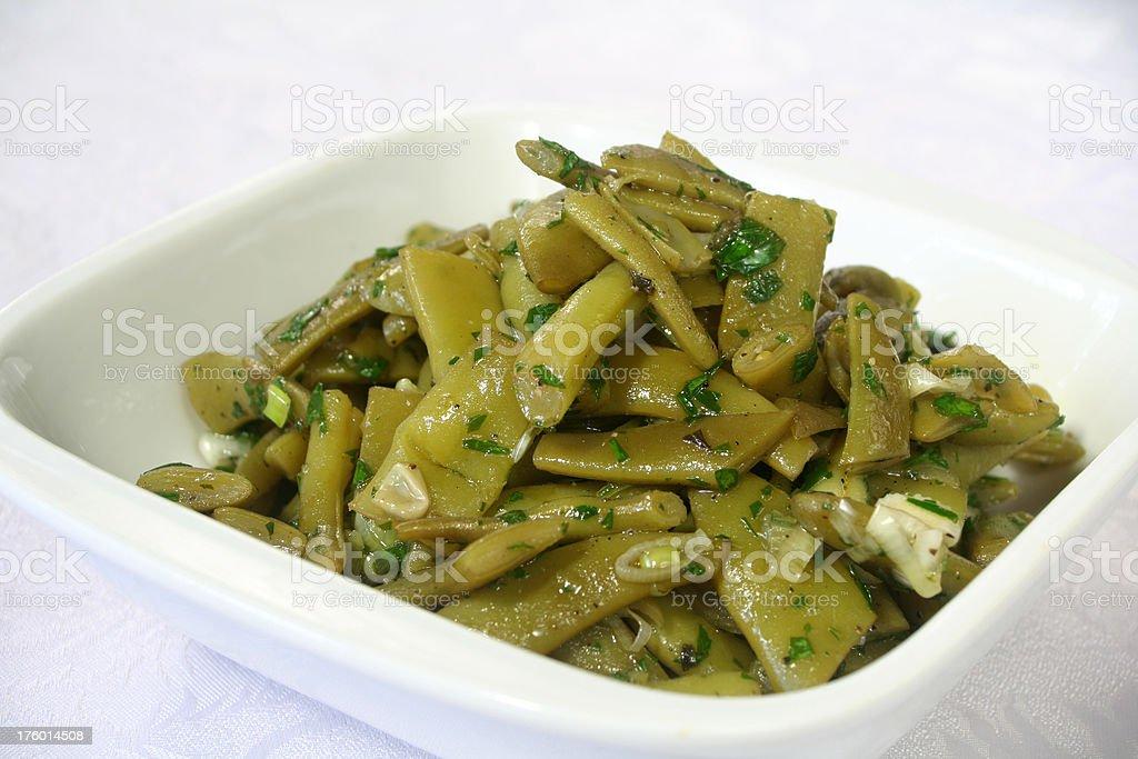 Green Bean Salad royalty-free stock photo
