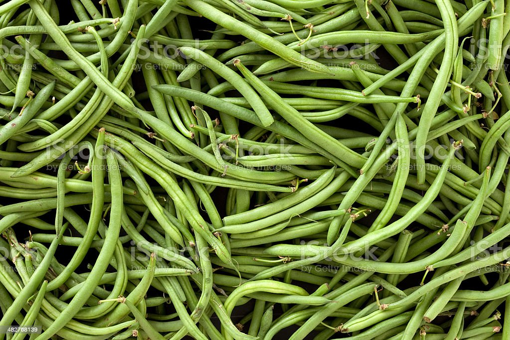 Green beans background royalty-free stock photo