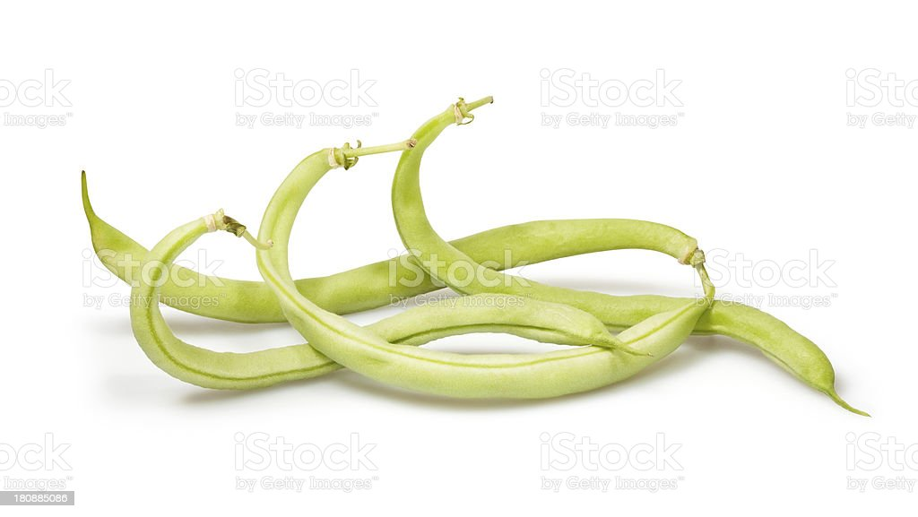 green beans group stock photo