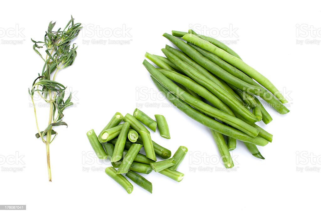 Green beans royalty-free stock photo