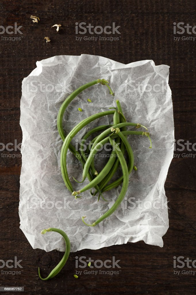 Green Beans stock photo