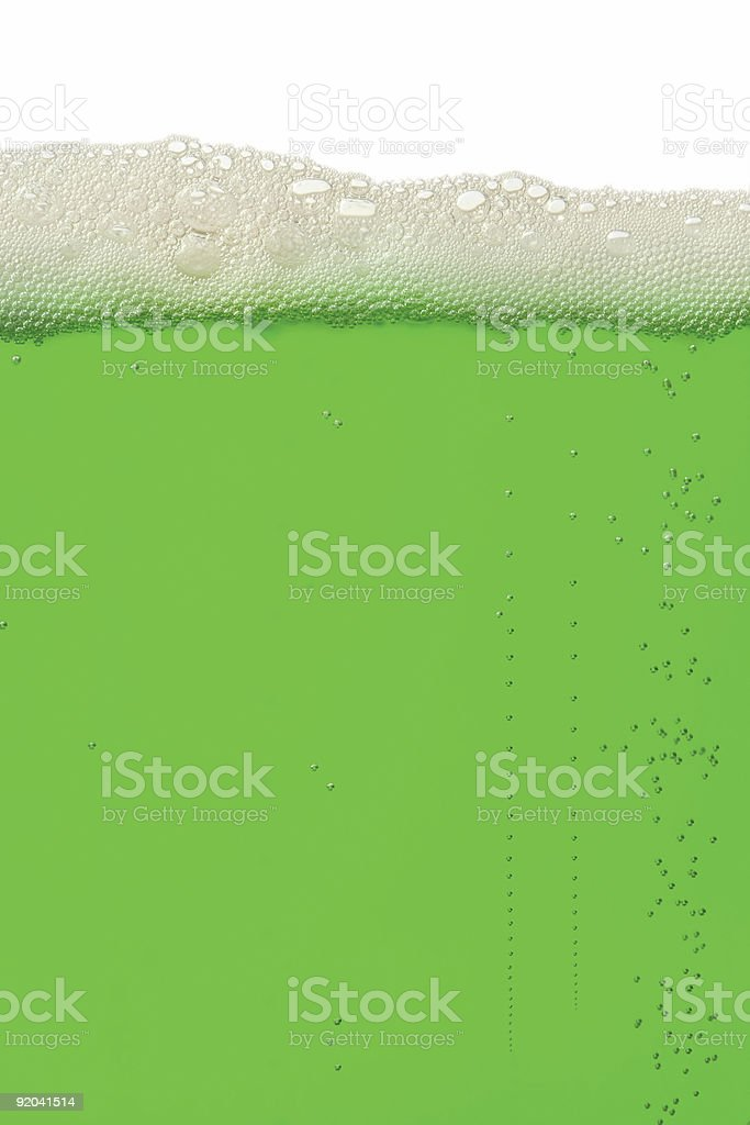 Green beer background royalty-free stock photo