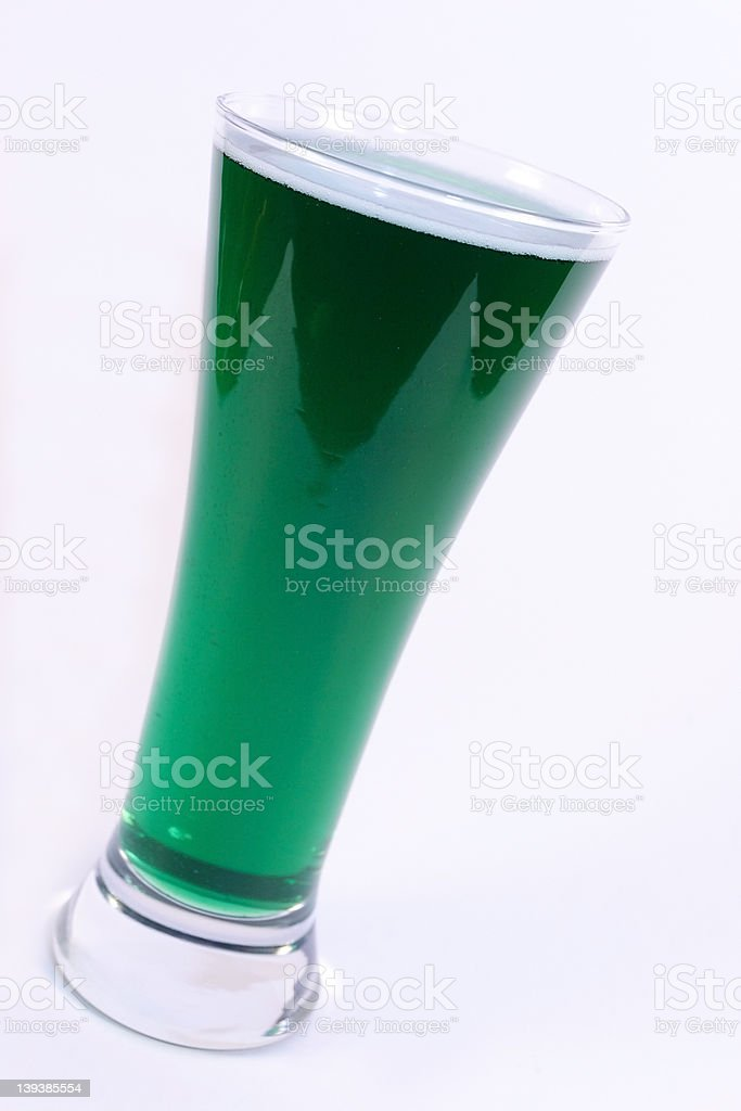 Green Beer stock photo
