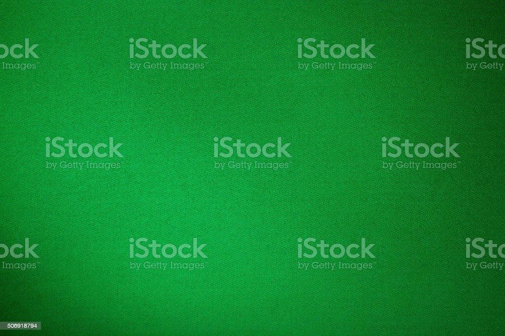 green biliard cloth color texture close up stock photo