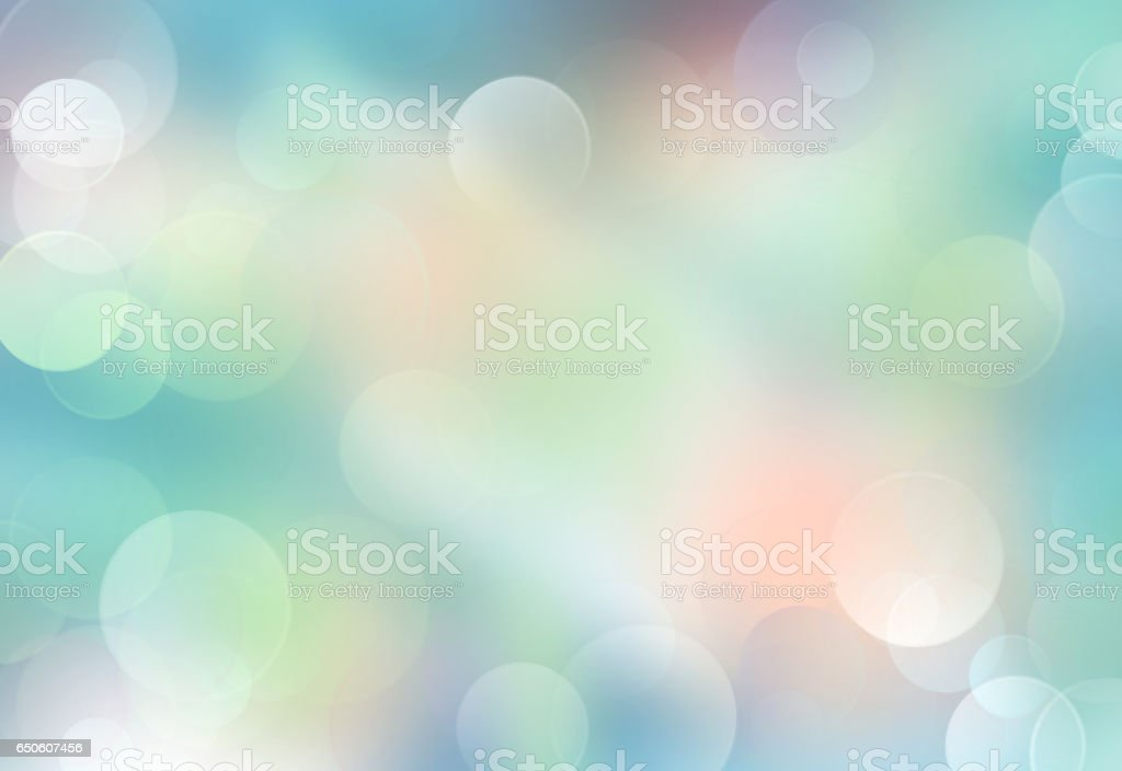 Green blue blurred abstract background. stock photo