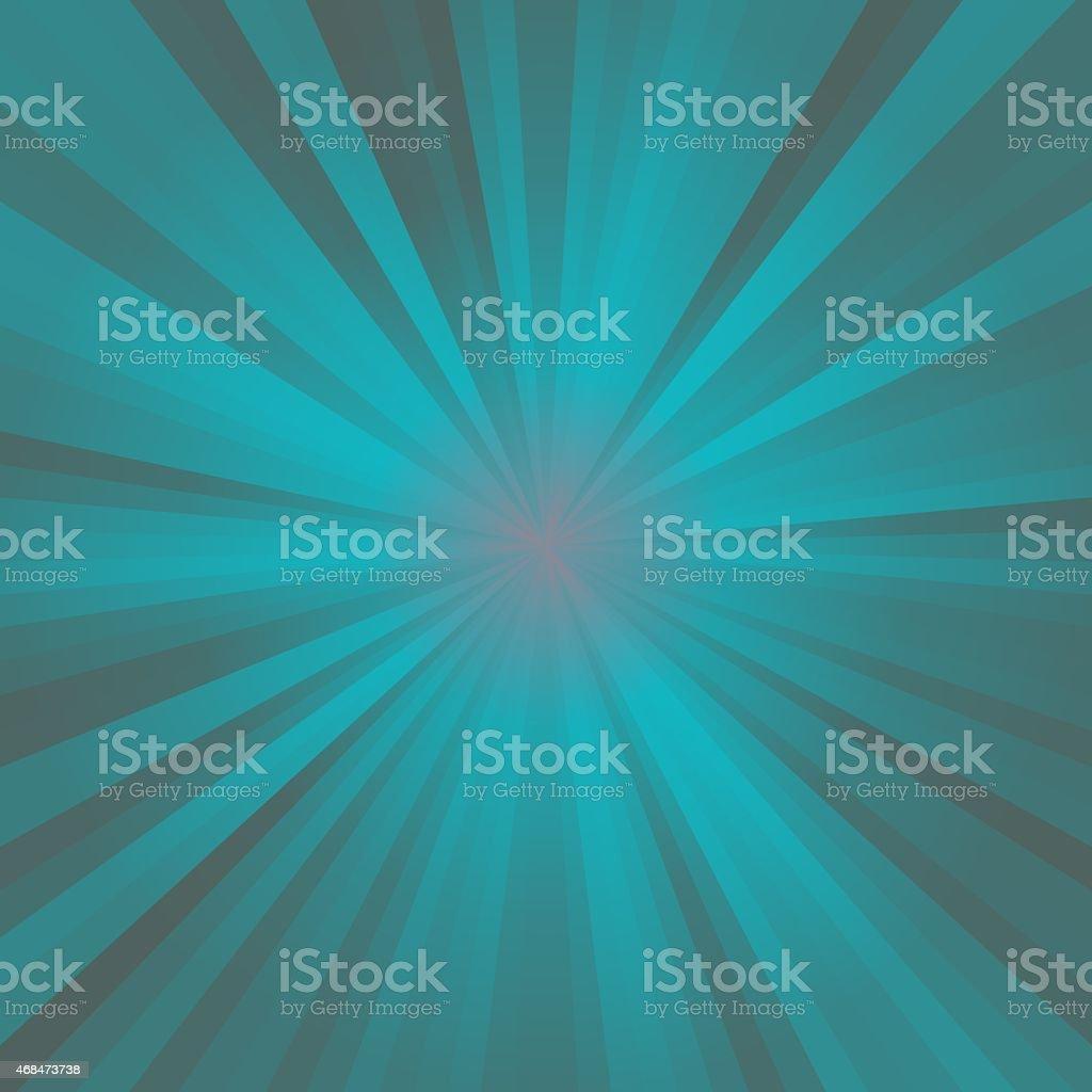 Green blue circle rays stock photo