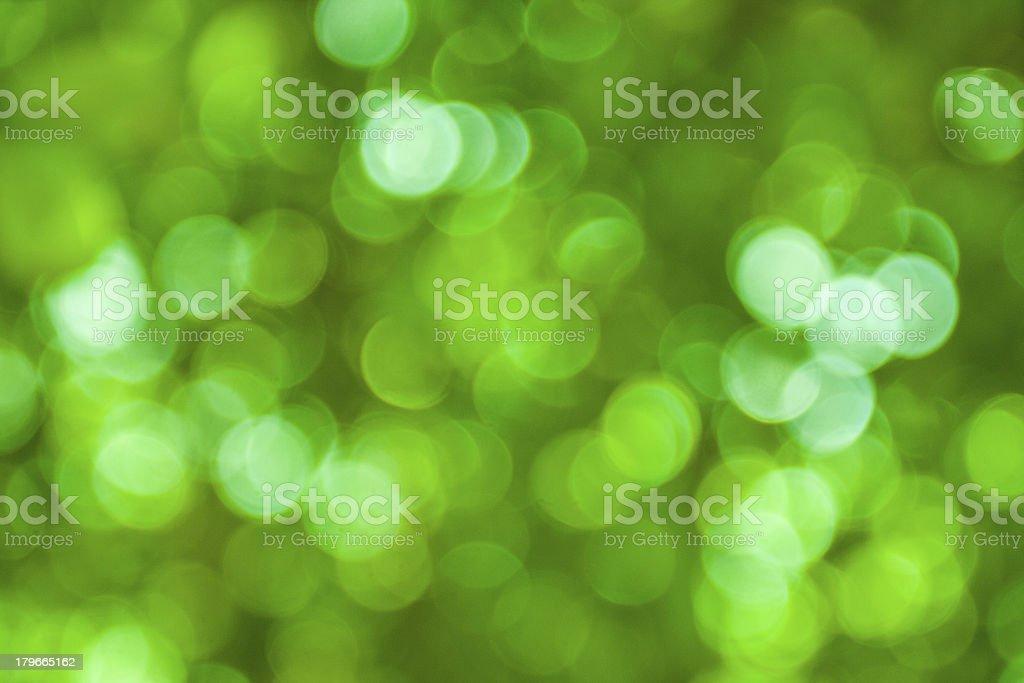 green bokeh background royalty-free stock photo