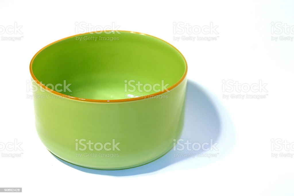 Green Bowl royalty-free stock photo