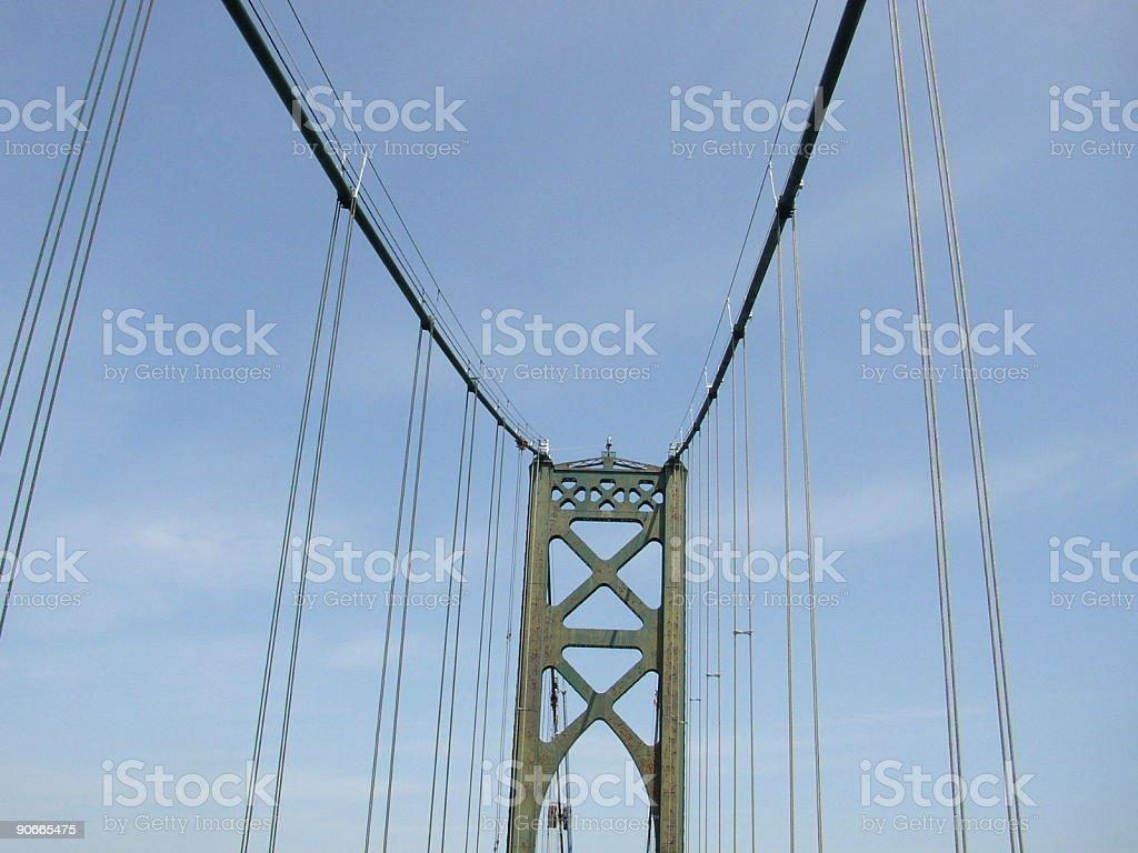 Green Bridge stock photo