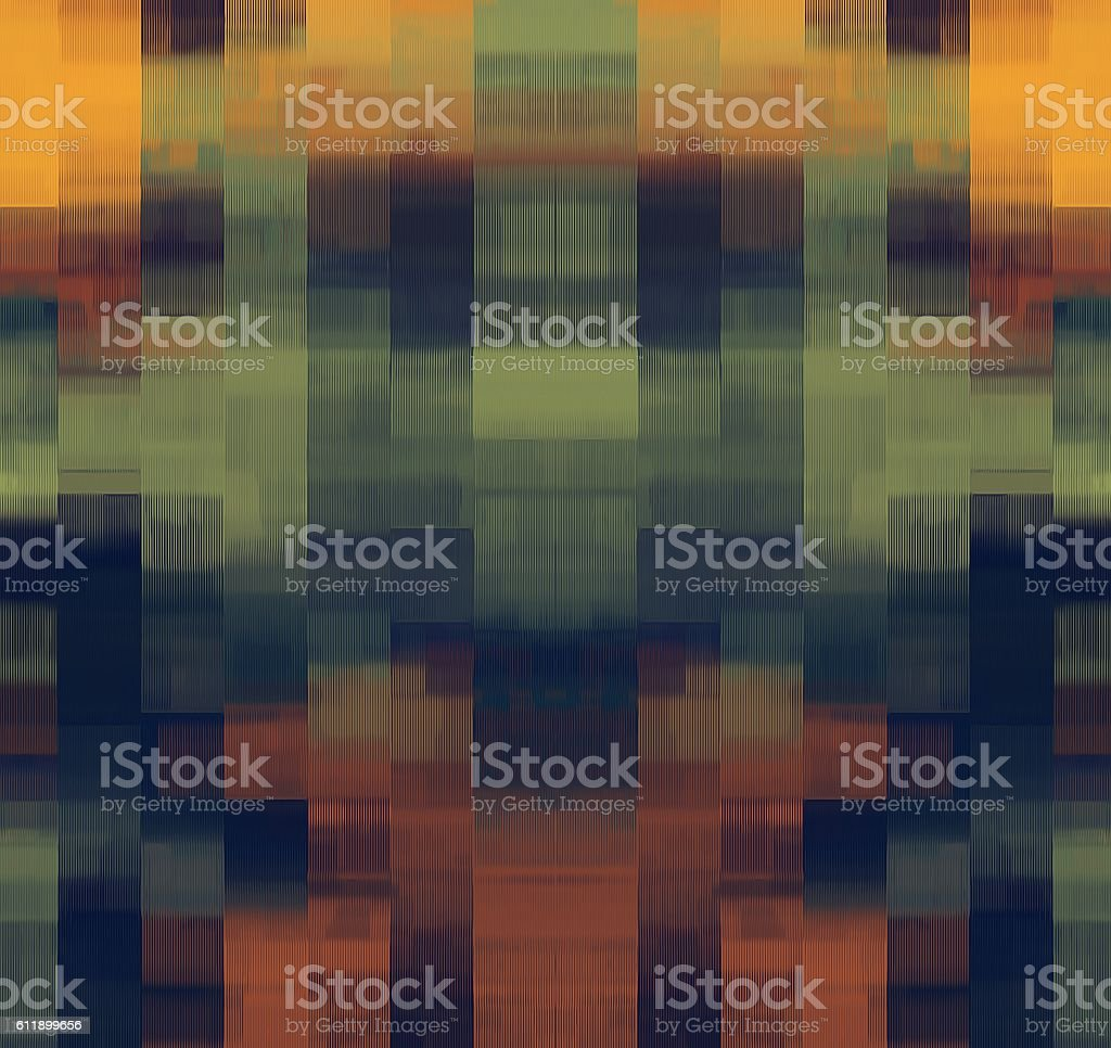green brown black and yellow plaid pattern abstract stock photo