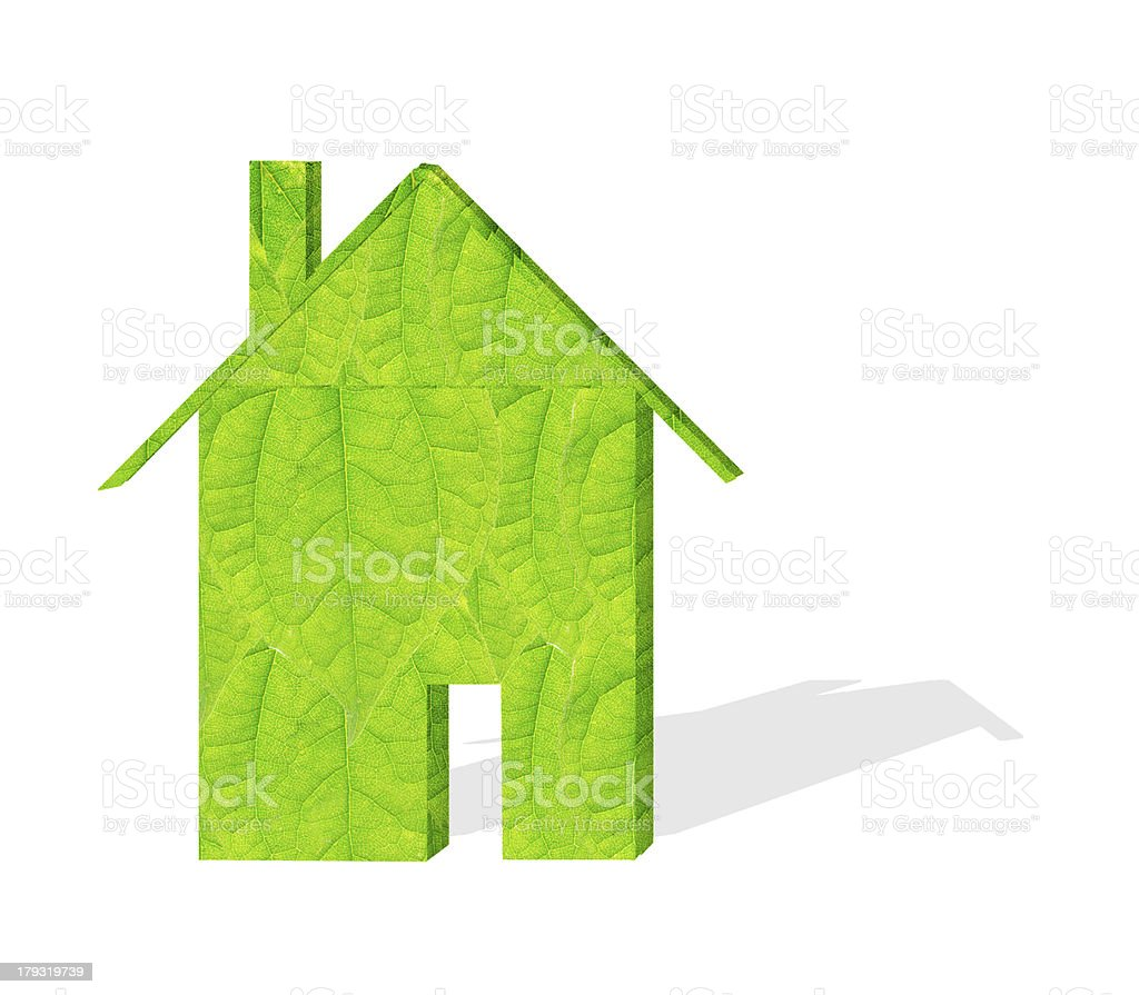 Green building models royalty-free stock photo