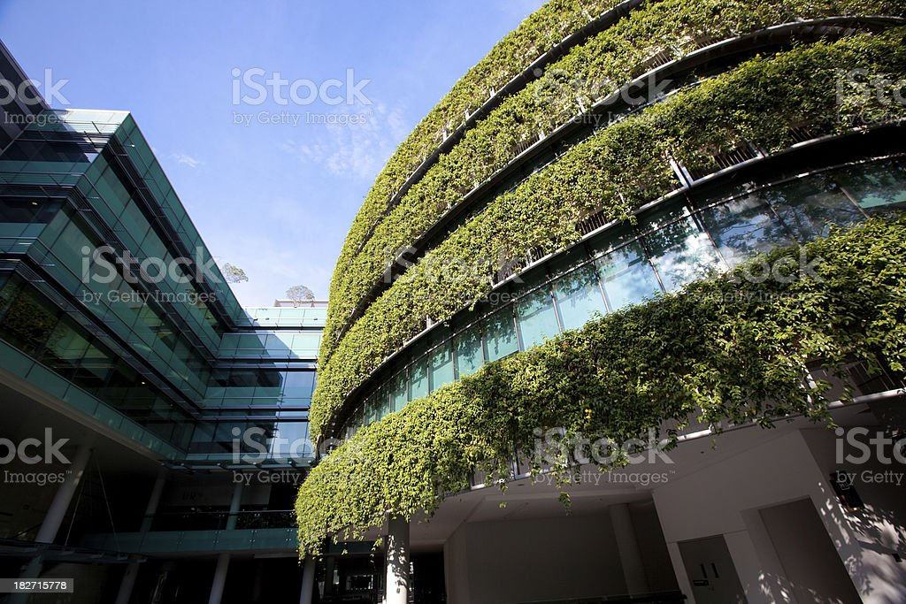 Green Building royalty-free stock photo