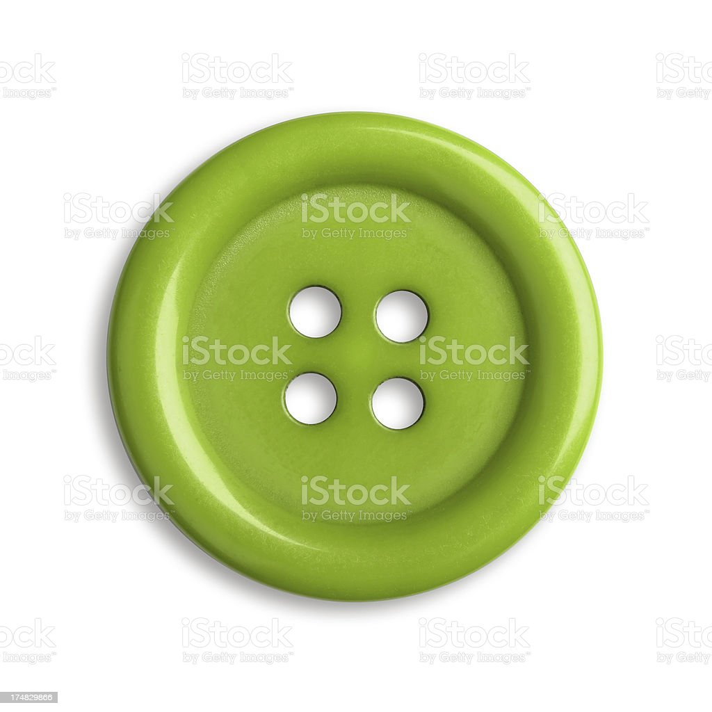 Green Button royalty-free stock photo