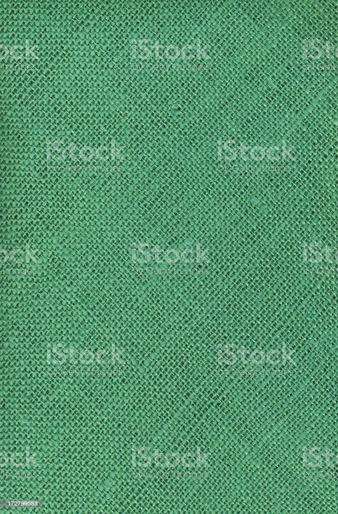 Green Canvas (diagonal lines) royalty-free stock photo