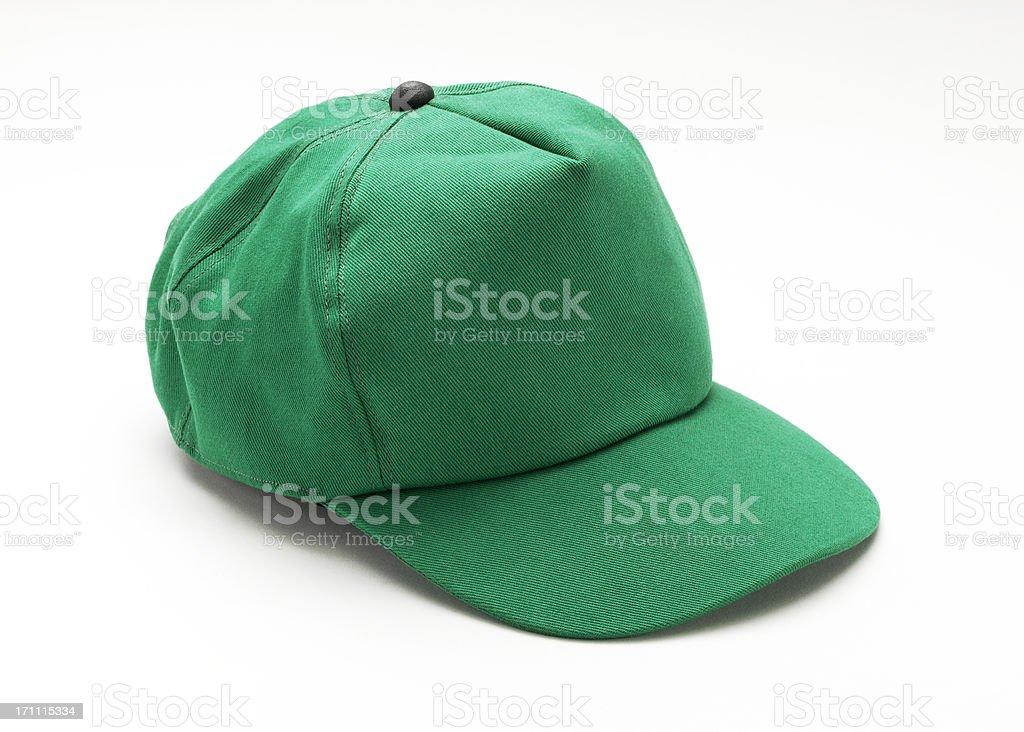 Green Cap royalty-free stock photo