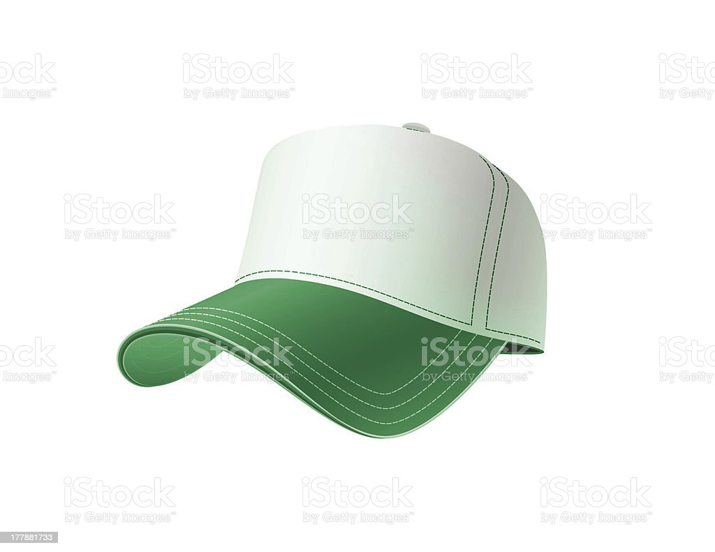 green cap stock photo