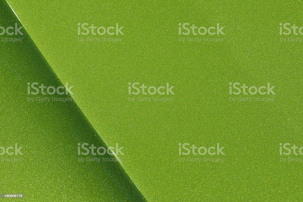 Green Car Hood Background stock photo