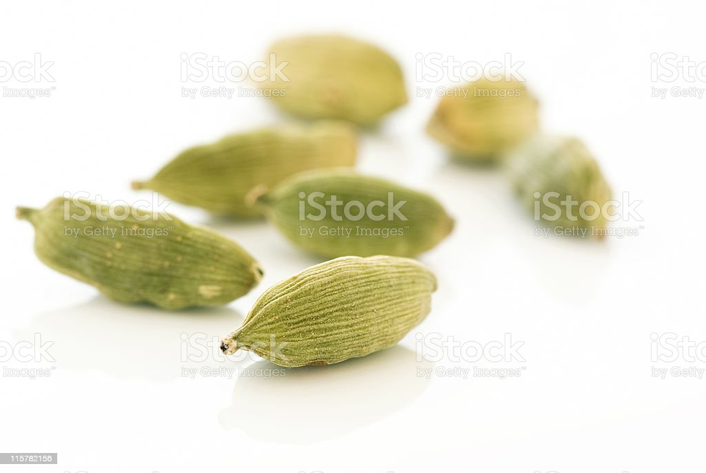 Green Cardamom royalty-free stock photo