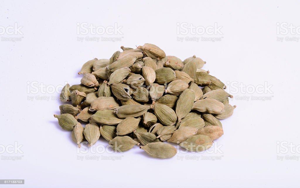 Green Cardamom stock photo