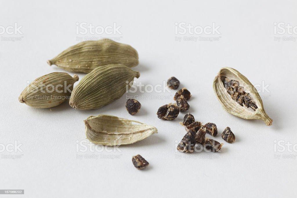 green cardamom pods royalty-free stock photo