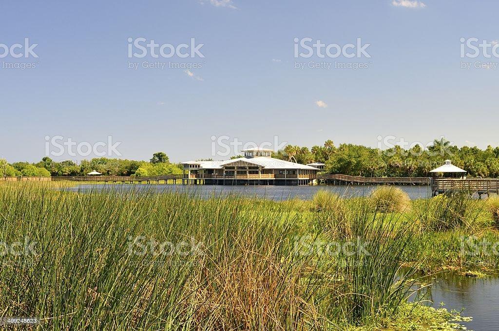 Green Cay Nature Center stock photo