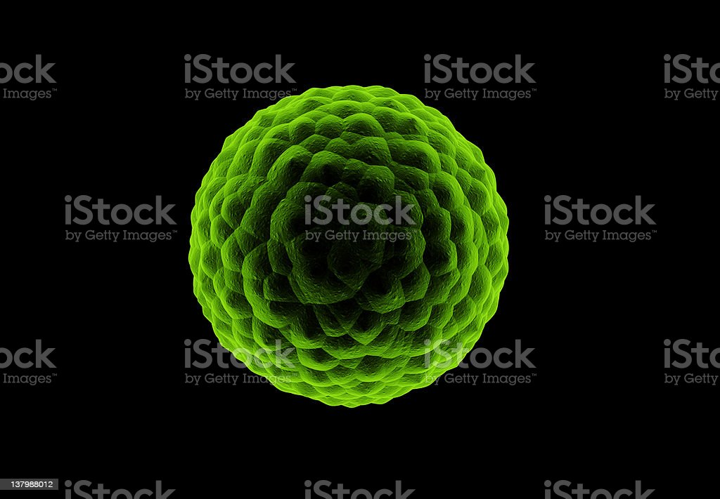 green cell royalty-free stock photo