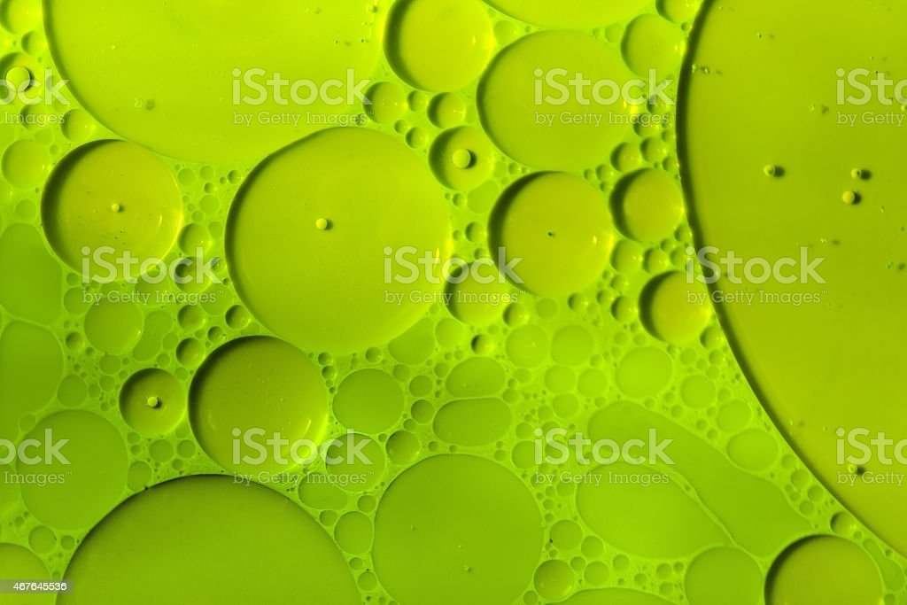 Green cells.. stock photo