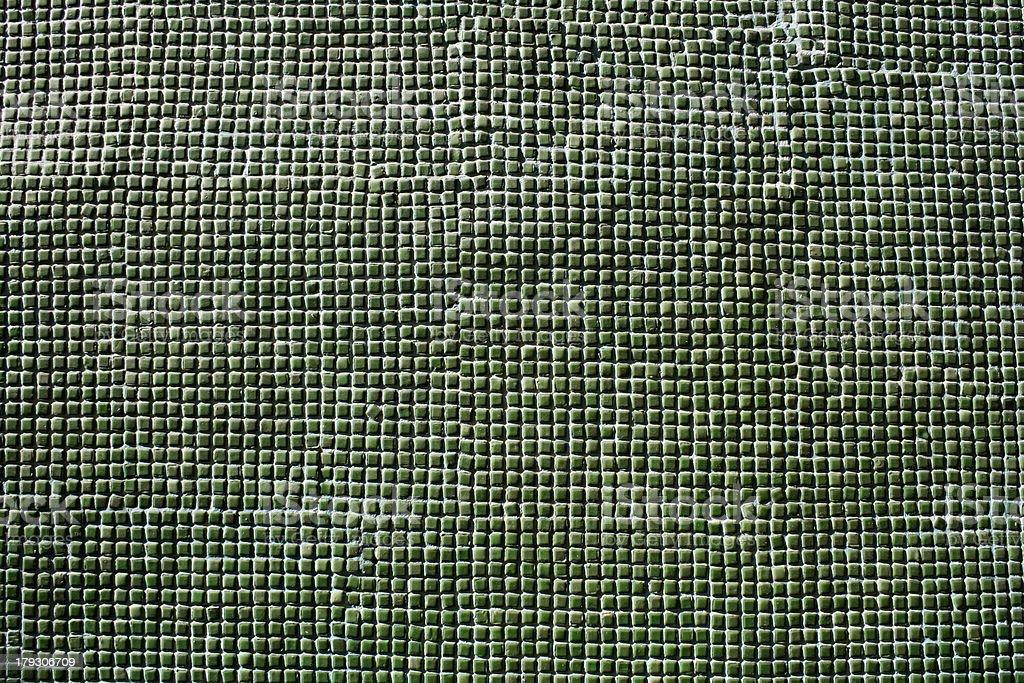 green ceramic tiles stock photo
