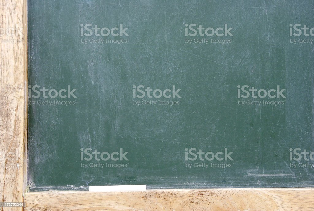 Green Chalkboard royalty-free stock photo